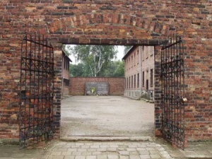Execution wall at Auschwitz