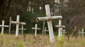 Graves at the Dozier School for Boys in Mariana, Florida