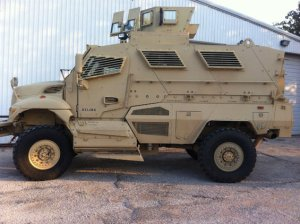 dallas police armored vehicle